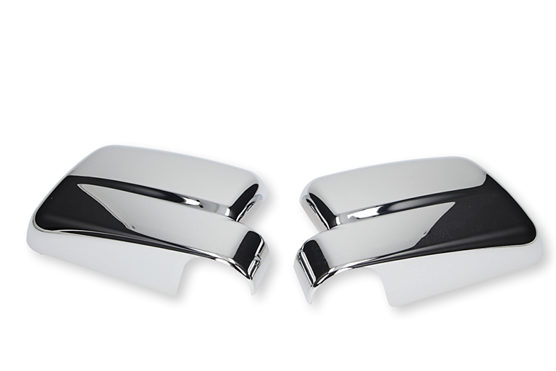 Chrome mirrors cover Ford Transit Connect